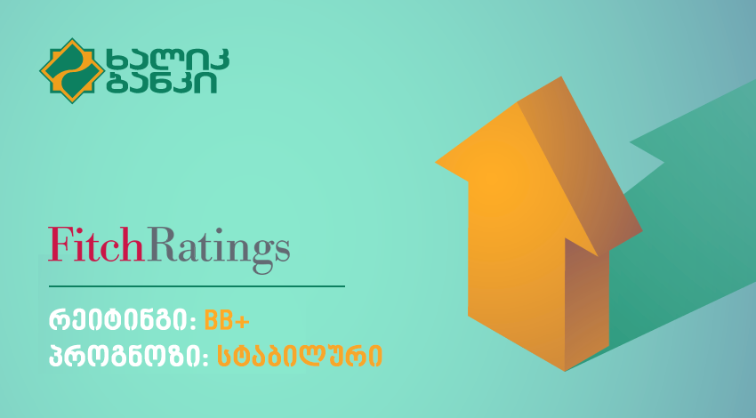 Credit rating of Halyk Bank of Georgia improved